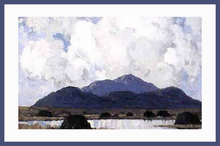connemara by paul henry