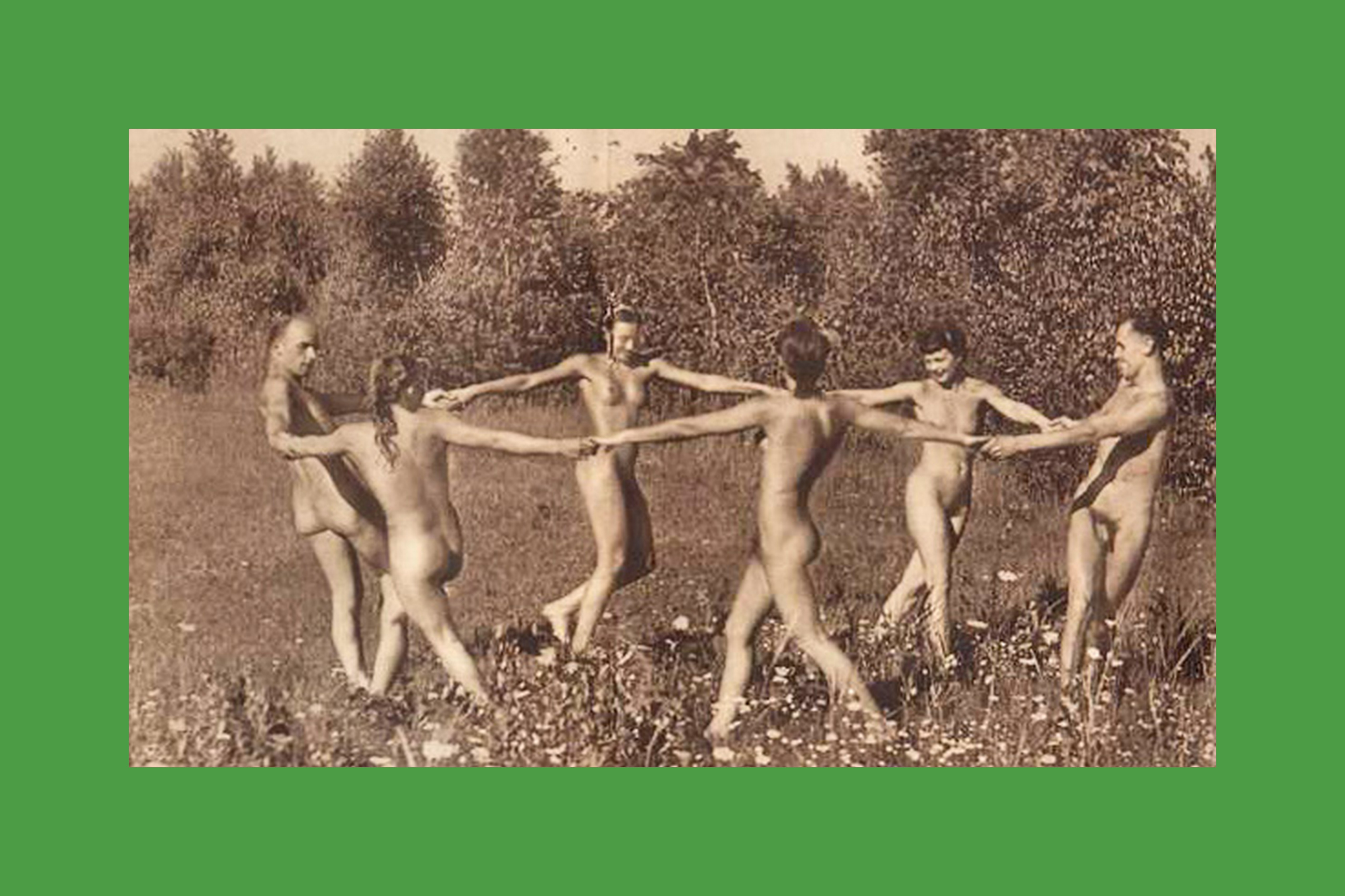 nudist ashamed Naked not and